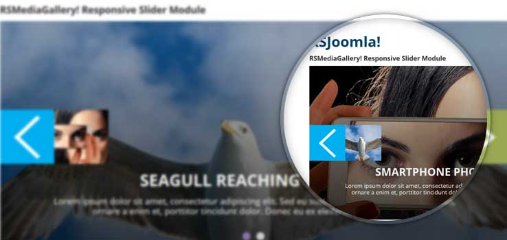 RSMediaGallery! Responsive Slider Module