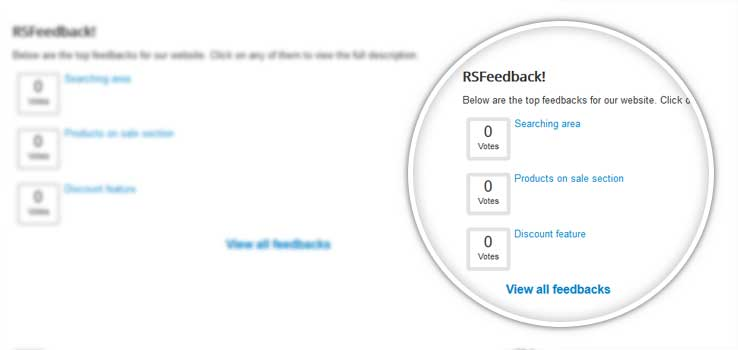 RSFeedback! module