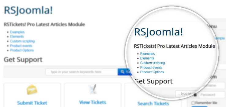 RSTickets! Pro Latest Articles Module