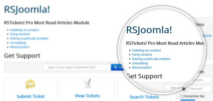 RSTickets! Pro Most Read Articles Module