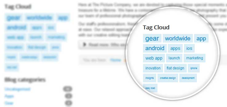 Tag Cloud Module