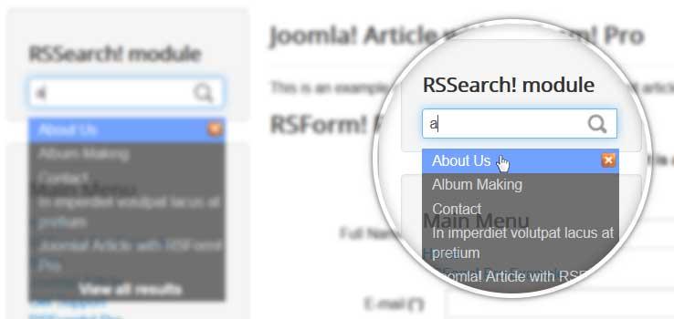 RSSearch! module