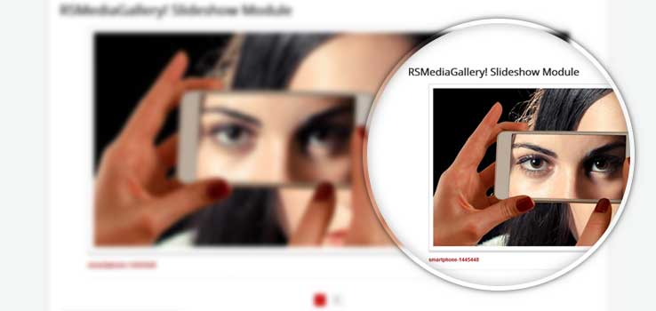 RSMediaGallery! Slideshow Module