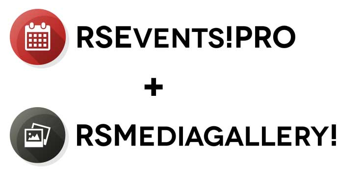 RSEvents!Pro - RSMediaGallery! integration