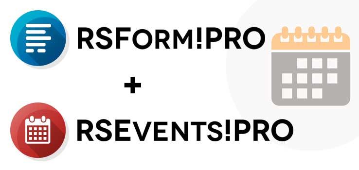 RSForm!Pro - RSEvents!Pro