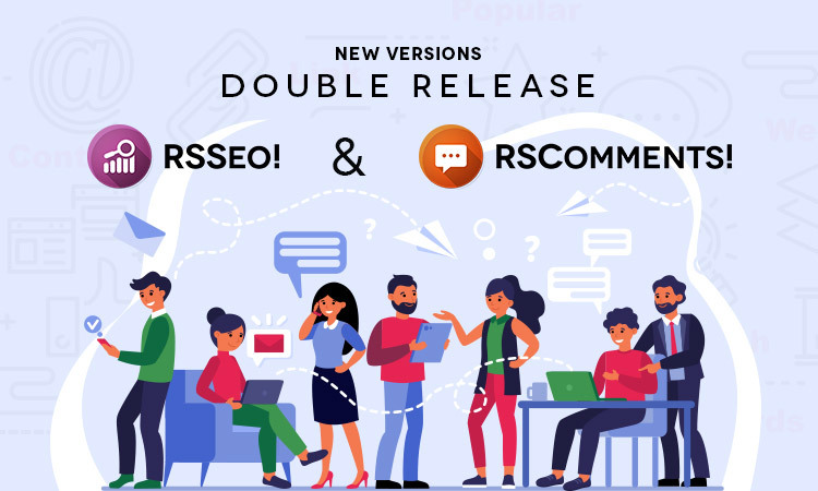 RSComments! - RSSeo! - Joomla! 4 compatibility
