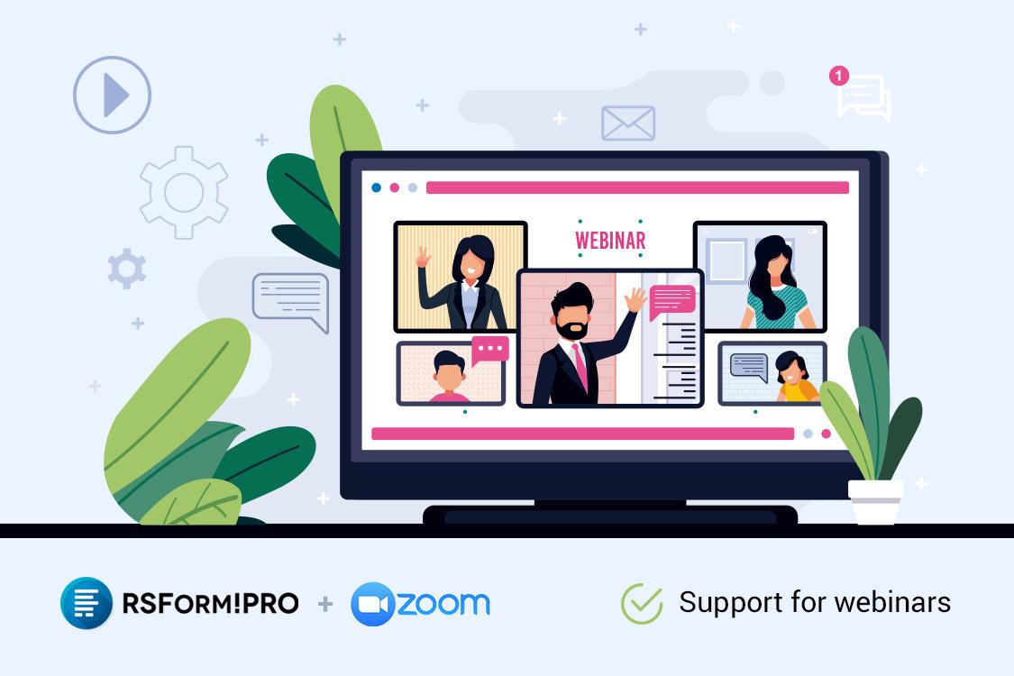 RSForm!Pro Zoom Webinars