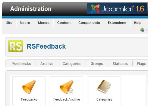 RSFeedback! compatible with Joomla! 1.6