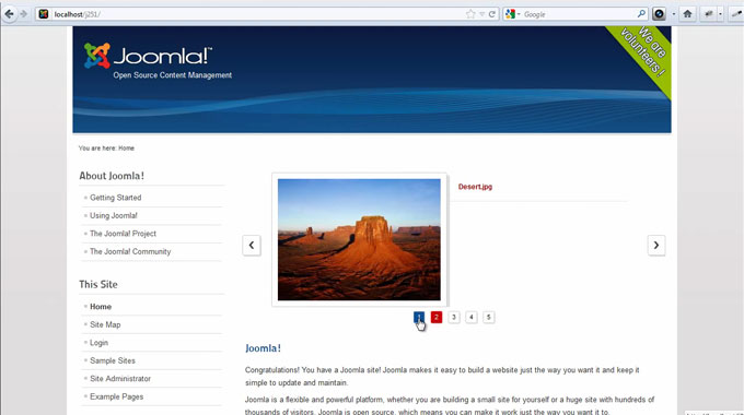 RSMediaGallery! Frontend slider