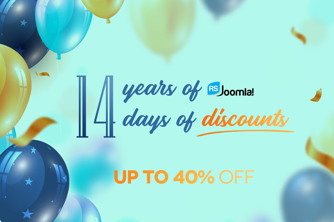 14 Years Anniversary Promotion