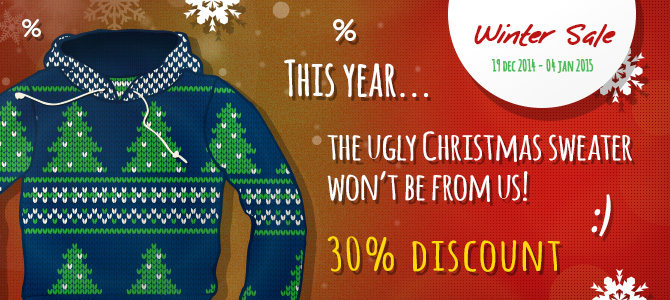 30% Off Multi-site Licenses and Templates for the Holiday Season