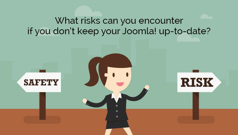 Joomla! no-update risks