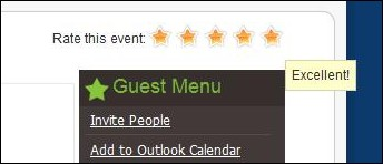 RSEvents! - event rating system