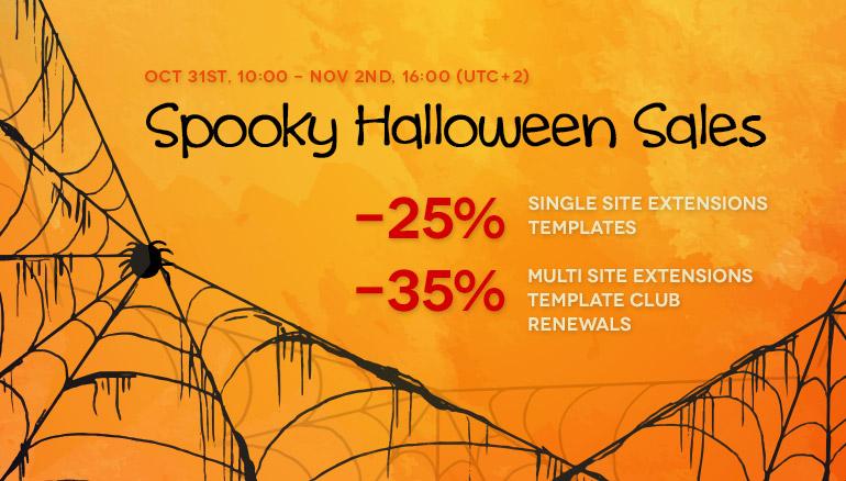 Spooky Halloween Sales