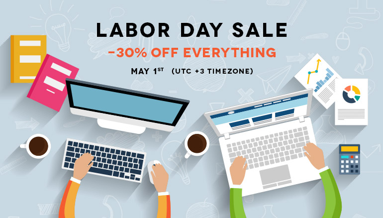 Labor Day Promotion