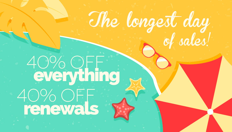 The longest day of sales!