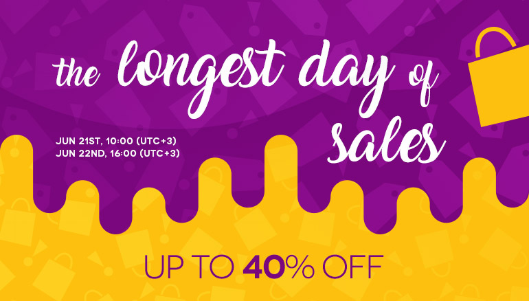 Longest Day of Sales 2018