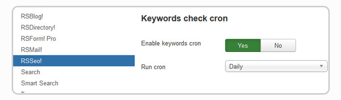 keywords position cron