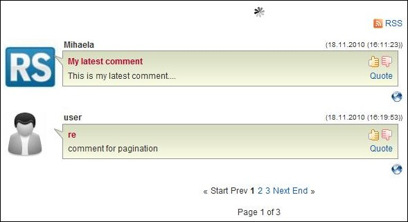 RSComments! - ajax pagination for comments
