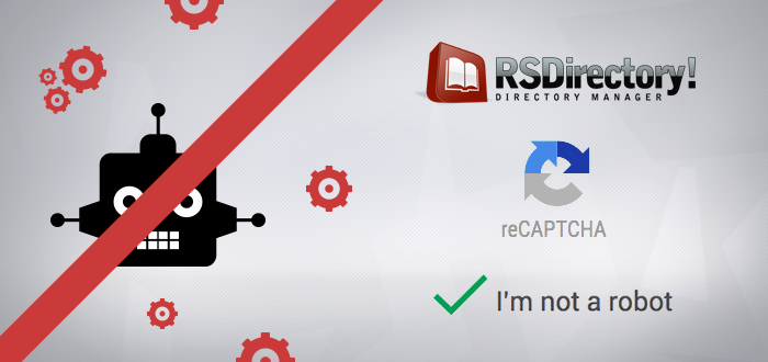 No CAPTCHA reCAPTCHA RSDirectory!