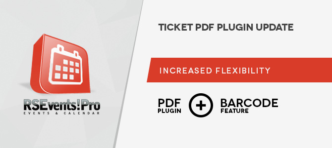 RSEvents!Pro PDF plugin improvements