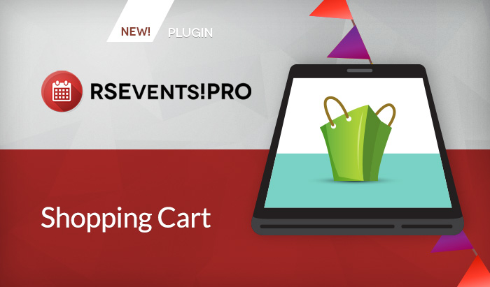 RSEvents!Pro Shopping cart