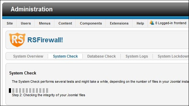 RSFirewall! System Check