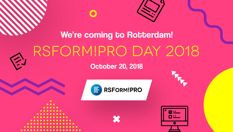 RSForm!Pro Day 2018