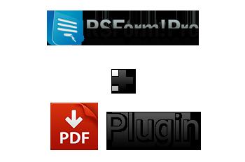 RSForm!Pro PDF Plugin