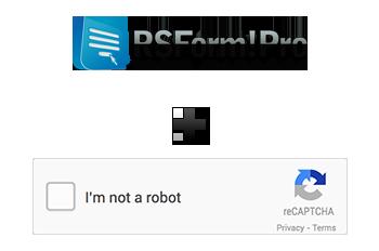 RSForm!Pro - reCAPTCHA No CAPTCHA