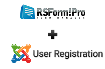 RSForm!Pro Joomla! user registration