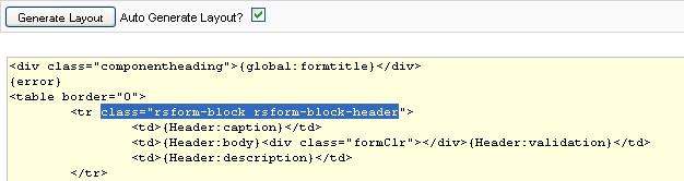 RSForm!Pro field block class name