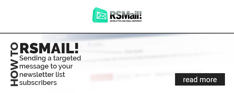 RSMail! send targeted message