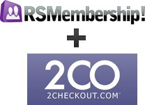 RSMembership! integration with 2Checkout
