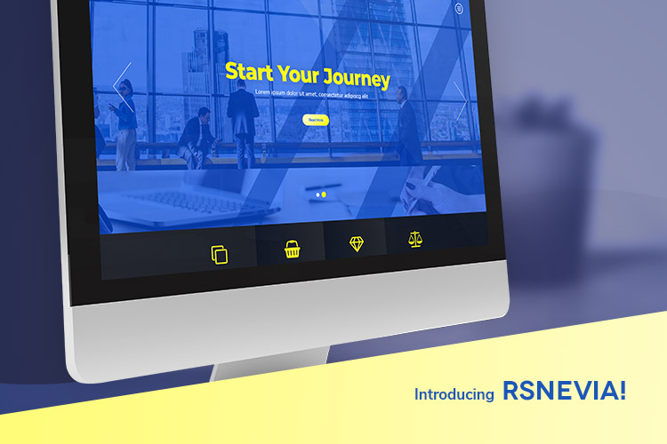 RSNevia! Corporate Joomla! Template