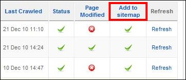 Include/exclude pages from the Joomla! sitemap