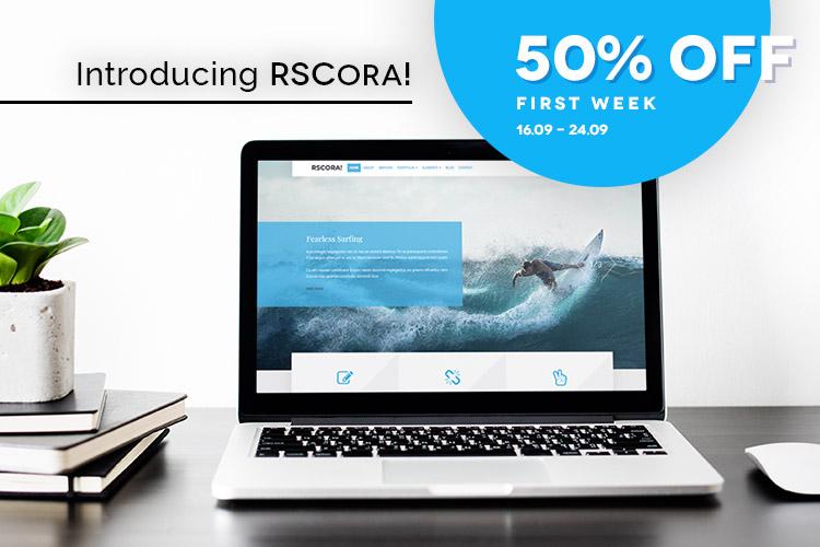 RSCora! Premium Joomla! Template