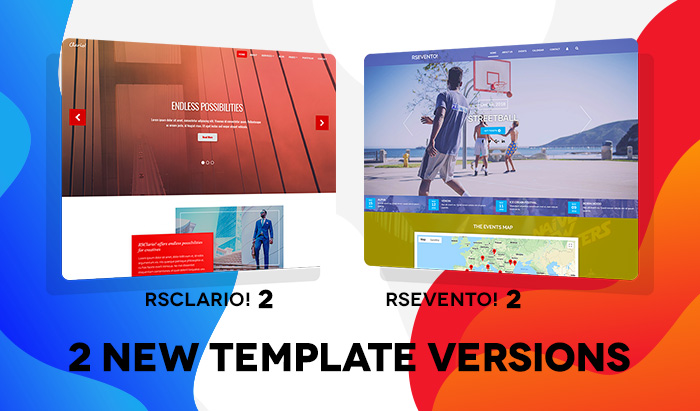 combo template launch check out rsevento and rsclario 2 0