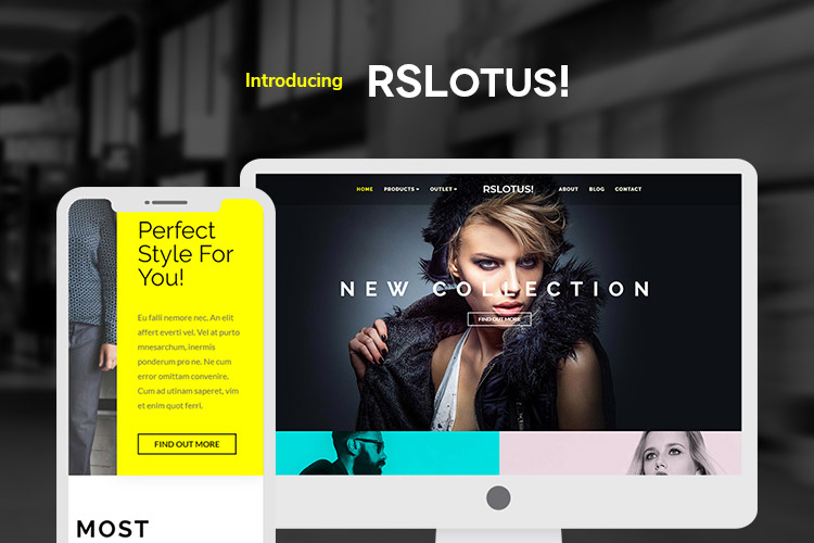 RSLotus! Corporate Joomla! Template
