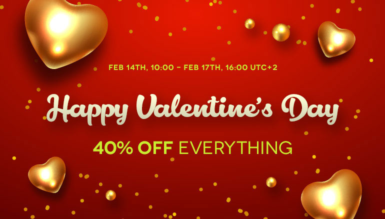 Valentine's Day Sale 2020