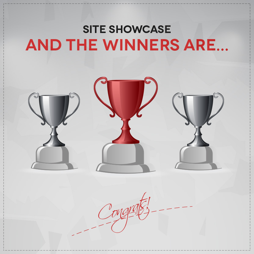 Showcase content winners