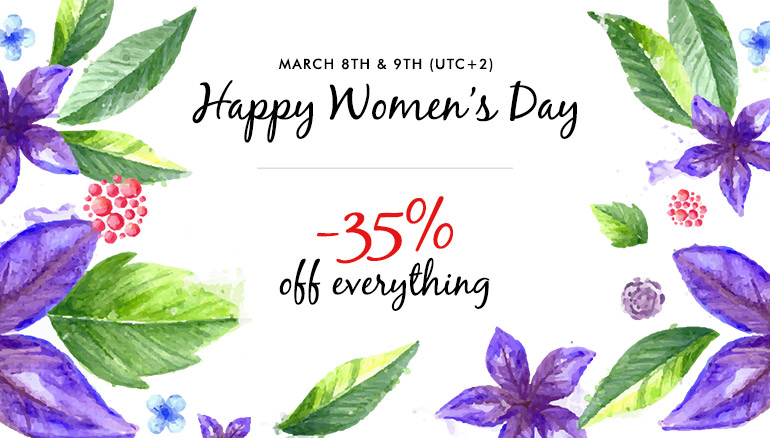 International Women's Day Promotion