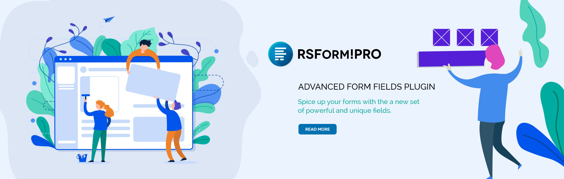 RSForm!Pro Advanced Form Fields