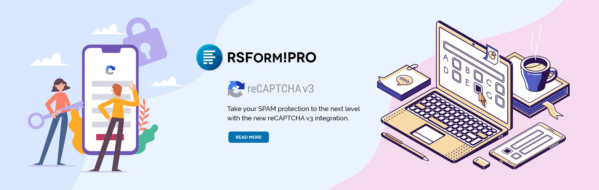 RSForm!Pro reCAPTCHA v3 integration