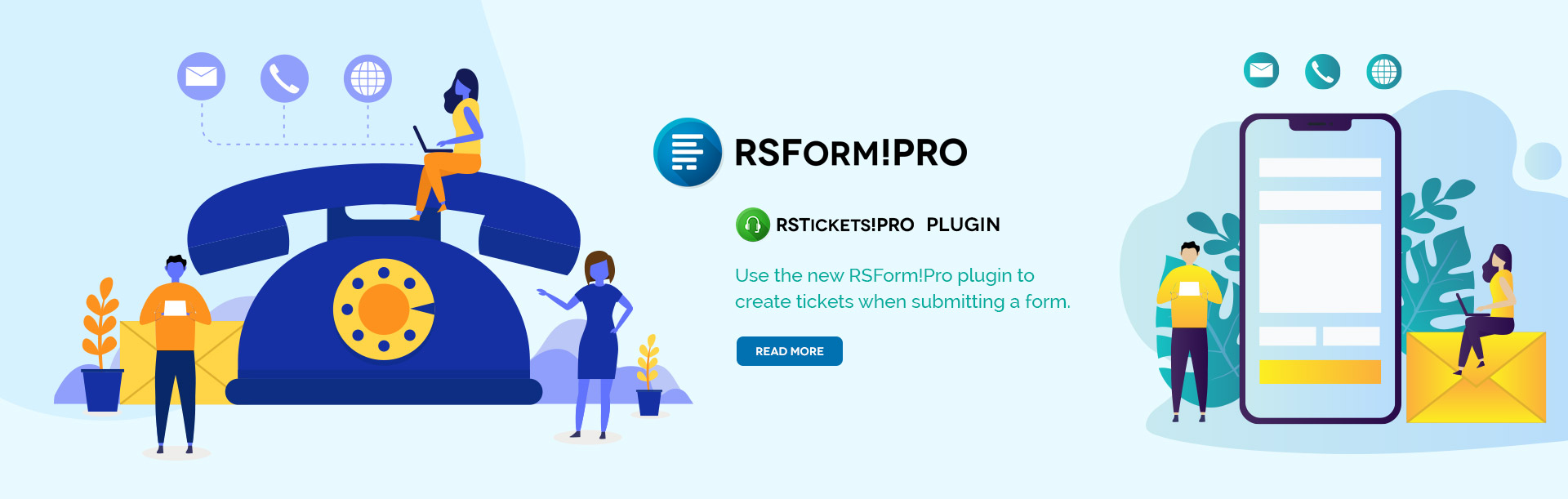 RSForm!Pro RSTickets!Pro plugin