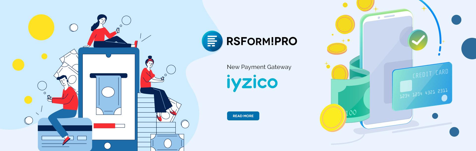 RSForm!Pro iyzico integration