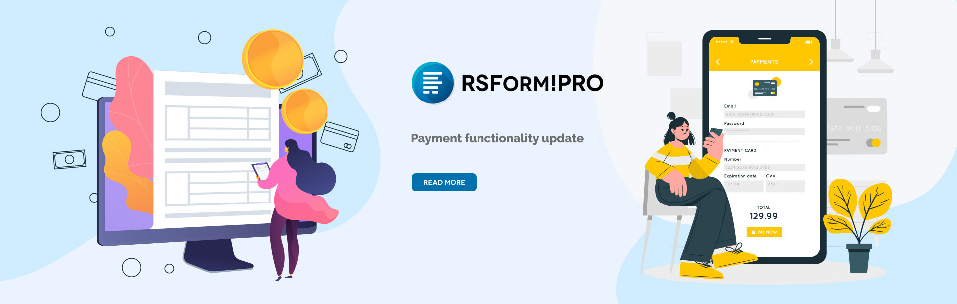 RSForm!Pro Payments Update