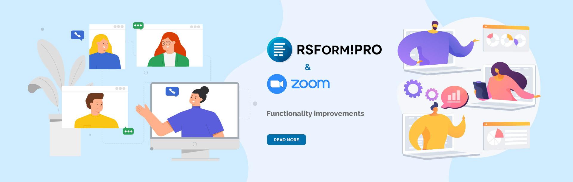 RSForm!Pro Zoom update