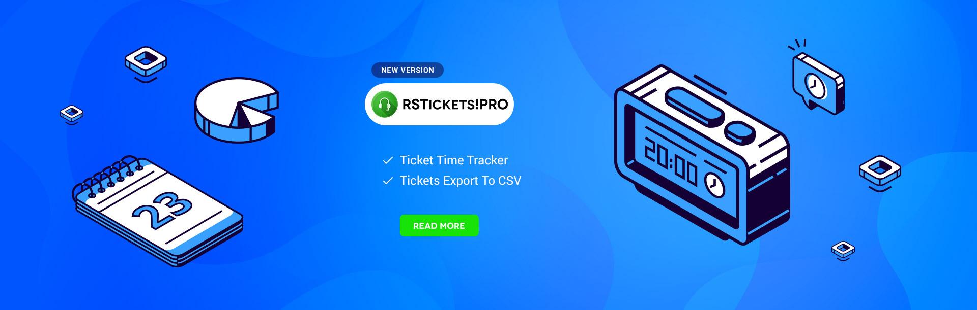 RSTickets!Pro 2.4.0
