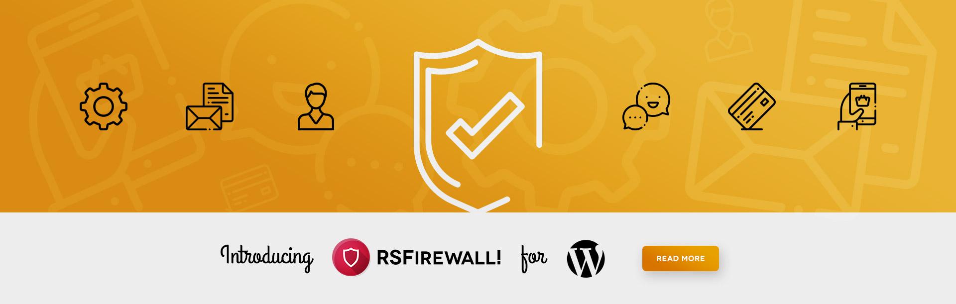 RSFirewall! WordPress release